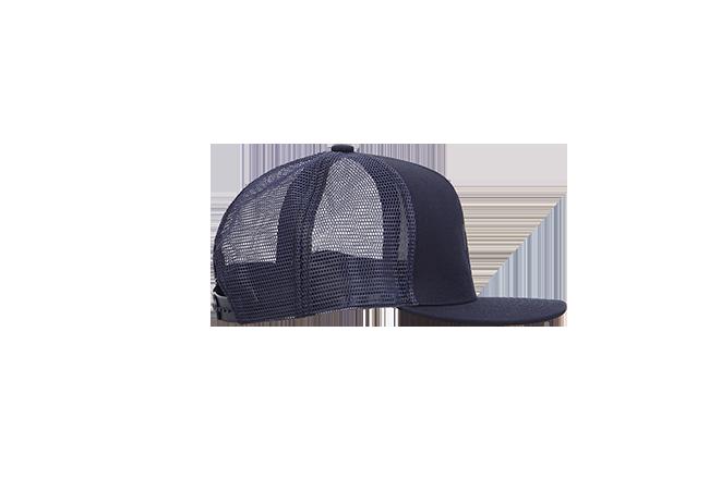 Кепка ПУХ темно-синяя с сеткой