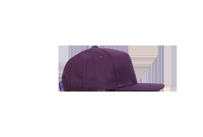 Кепка ПУХ фиолетовая