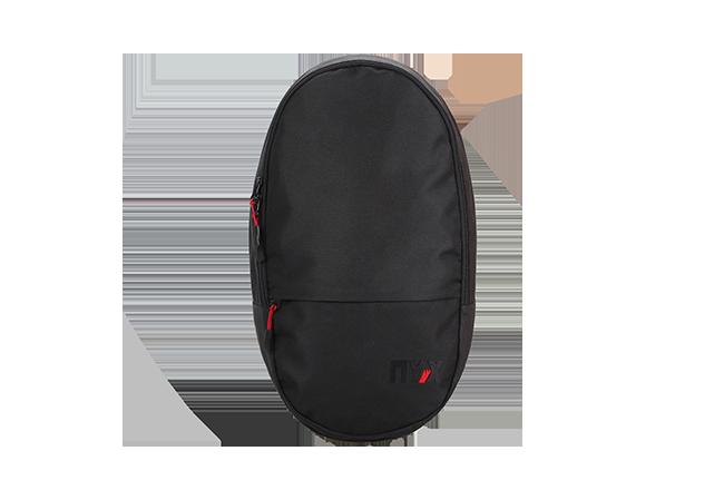 Рюкзак Стрит ПУХ черный с красным